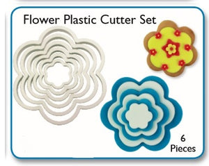 Flower/Blossom (set of 6).  PME Cutters