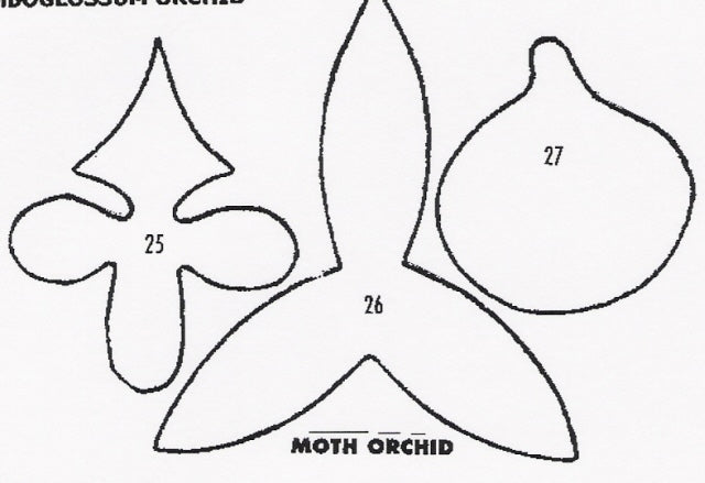 Orchid - Moth 25/26/27 (50mm).  TinkerTech Two Cutters