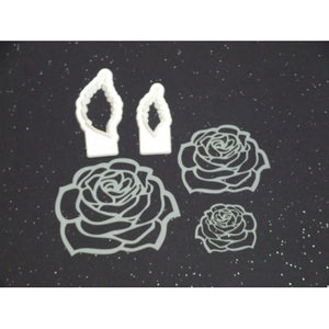 Benison Stencil and Cutter set - Antique Rose