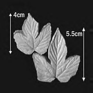 Great Impressions (SK) Leaf Veiners - Hops - set of 2 5.5cm/4cm GM01H010-04
