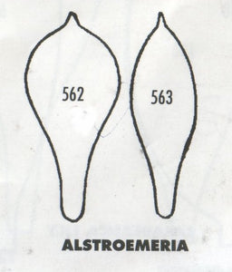Alstroemeria 562/563 (40mm).  TinkerTech Two Cutters