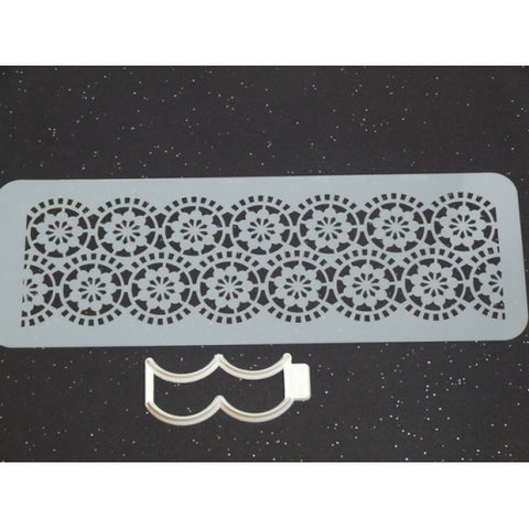 Benison Stencil and Cutter Set - Circle Lace