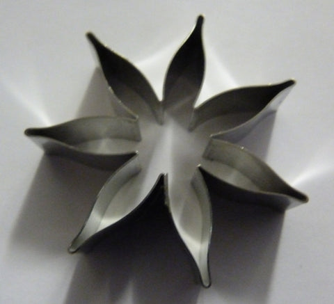 7 petal Calyx  55mm (177). Fine Cut  Cutters