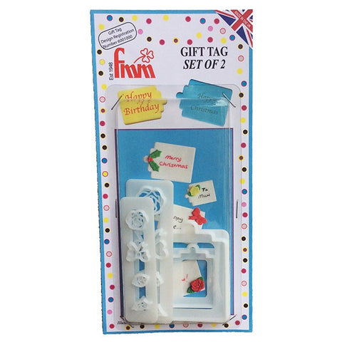 FMM Cutters - Gift Tag Set