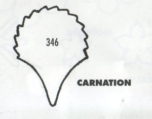 Carnation - Single Petal 346 (35mm).  TinkerTech Two Cutters