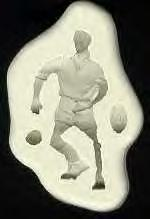Diamond Paste Moulds - Footballer