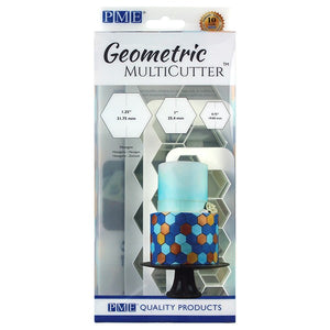 PME Cutters - Geometric MultiCutter - Hexagon - 3 Set