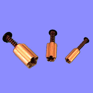 Blossom (Miniature).  set of 3 with Ejector.  PME Cutters