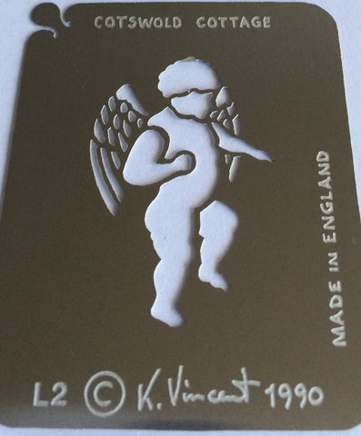 Stainless Steel Stencil - Cupid SALE