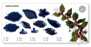 Assorted Leaves set of 10 (A14) - Jem Cutters