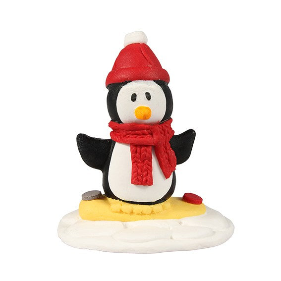 Penguin with Bobble Hat - Cake Star