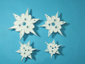 Orchard Products Cutters - Star Cutter - set of 4.