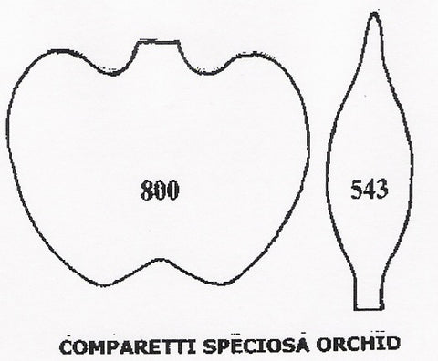 Orchid - Comparetti Speciosa 800/543 (30mm) TinkerTech Two Cutters