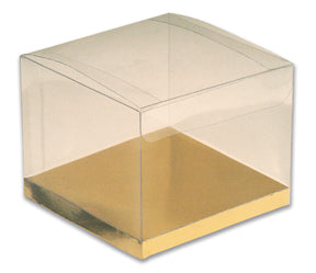 PVC Box and Base  80 x 80 x 90mm high. Pack of 10