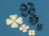Benison Cutters - Classic Collection - Four Petal Cutter  set of 3