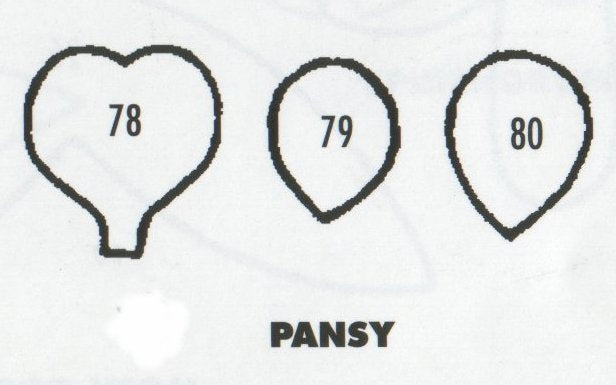 Pansy 78/79/80 (20mm).  TinkerTech Two Cutters