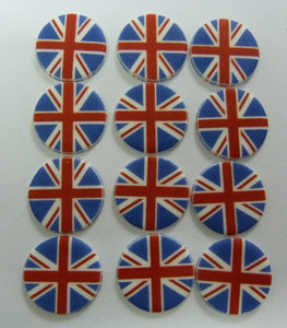 Union Jack Sugarettes - Pack of 12