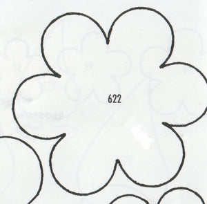 Blossom 6 Petalled 622 (63mm).  TinkerTech Two Cutters