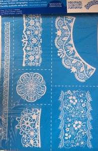Setacolor Stencil - Lace - 6 Designs