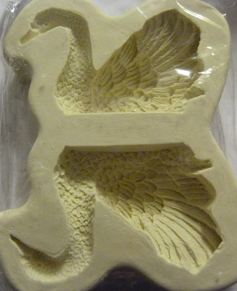Diamond Paste Moulds - Swan 3D Large - to order please allow 1 week