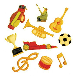 FMM Cutters - Musical/Sport set.