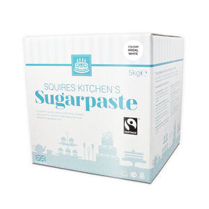 Sugarpaste (Fondant) - Squires Kitchen - Bridal White - 5Kilo
