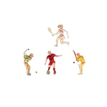 FMM Embossers - Sportsmen set of 4