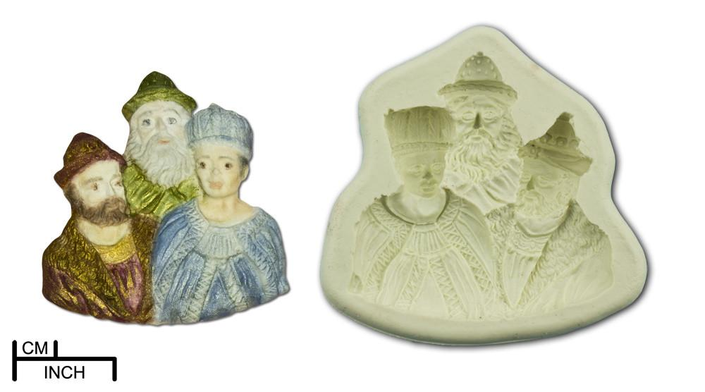 Diamond Paste Moulds - Three Kings