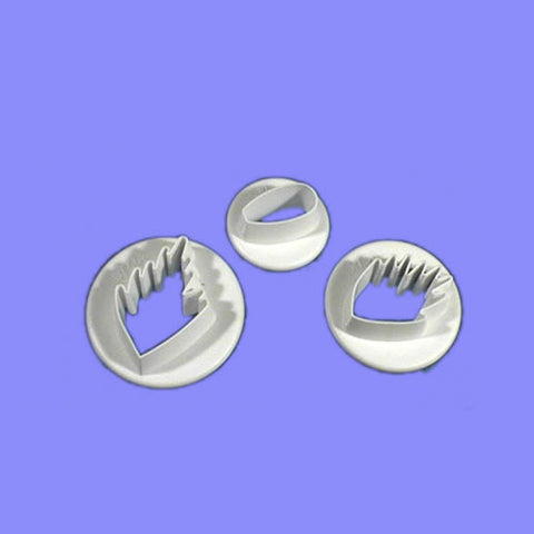 Wood Anemone set of 3.  PME Cutters