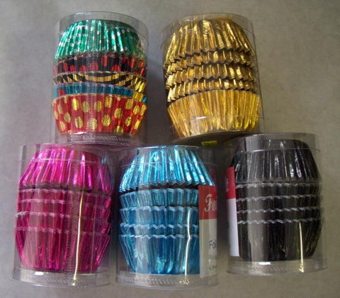 Bun Cases Foil - Pack of 40 (Foilcraft)  -  LIMITED STOCK