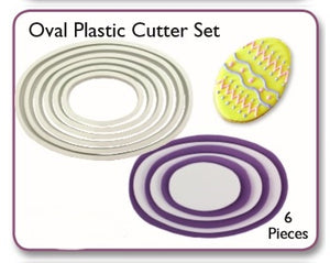 PME Cutters - Oval (set of 6)