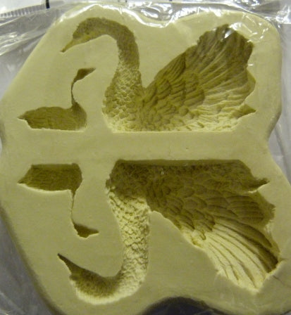 Diamond Paste Moulds - Swan 3D