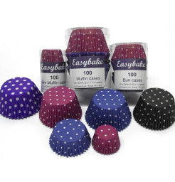 Bun Cases - Deeptone Polka Dot