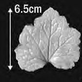 Great Impressions (SK) Leaf Veiners - Tellima, Very Large 6.5cm GM01T001-01