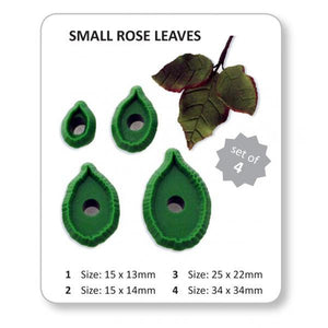 Jem Cutters Rose Leaves - Pointed (L10)