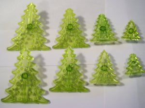 Jem Cutters - 3D Christmas Trees.