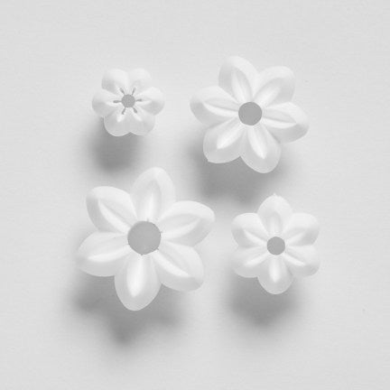 6 Petal Flower - set of 4 N5-N8 (25mm-10mm). (small ) Orchard Products Cutters