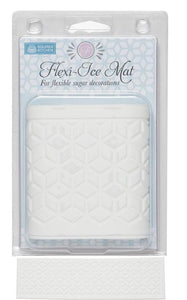 Squires Kitchen Flexi-Ice Lace Mat - Geometric Cubes