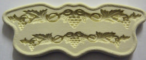 Diamond Paste Moulds - Grape Garland