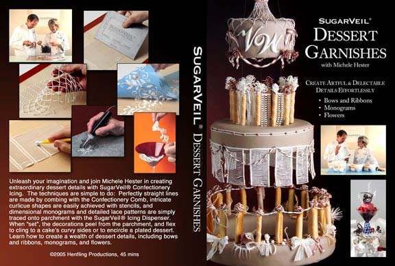 DVD SugarVeil Dessert Garnishes