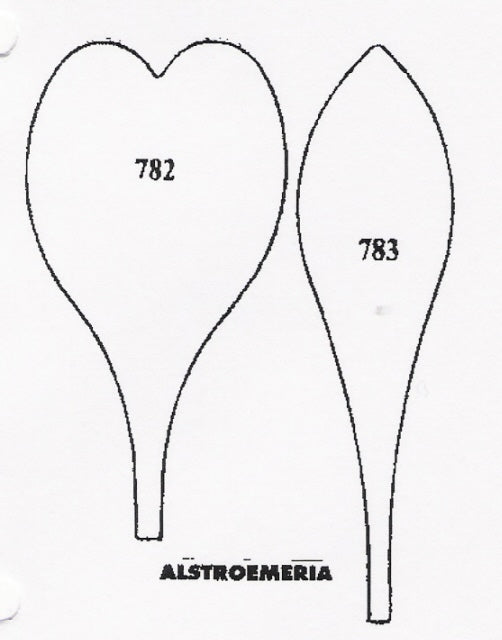 Alstroemeria 782/783 (70mm).  TinkerTech Two Cutters