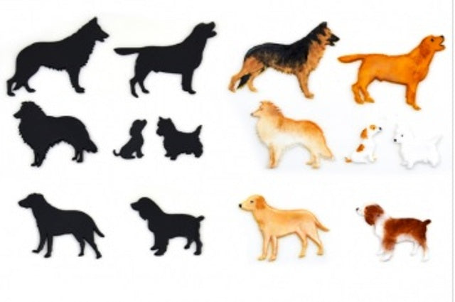 Patchwork Cutters - Dog Silhouette (set 1)