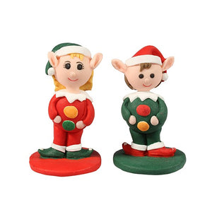 Santa's Helpers (Elves)  - Cake Star Christmas Toppers