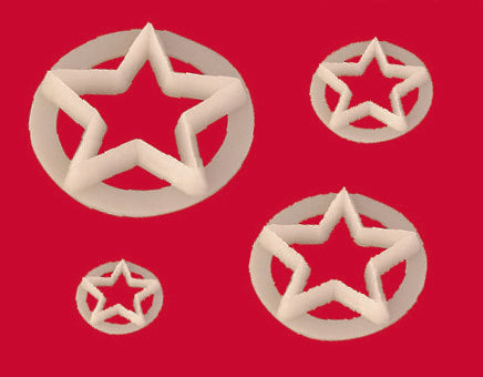 FMM Cutters  - Star set of 4