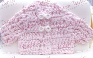 Karen Davies Mould - Crochet Baby Jacket
