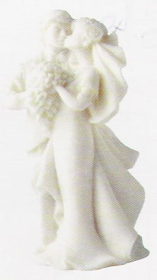 Wedding Topper - Just Married with Flowers