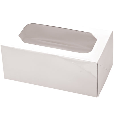 Muffin Boxes - White. 2's - Pack of 2