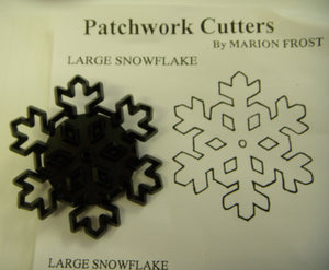 Patchwork Cutters - Snowflake (Large)