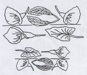 Arum (Calla) Lily (easy twist).  Patchwork Cutters