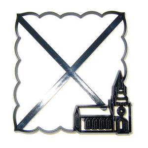 Patchwork Cutters - Name Place Setting -  Church (B)